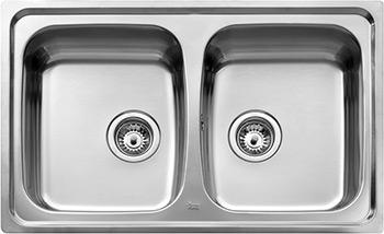 Кухонная мойка Teka, UNIVERSO 79 2B Вa, Испания  - купить со скидкой