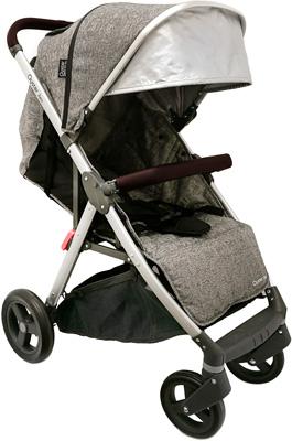 Детская коляска Oyster Zero Wolf Grey exclusive OZEWOGR