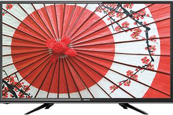 LED телевизор Akai LEA-24D102M Черный led телевизор akai lea 39k48p