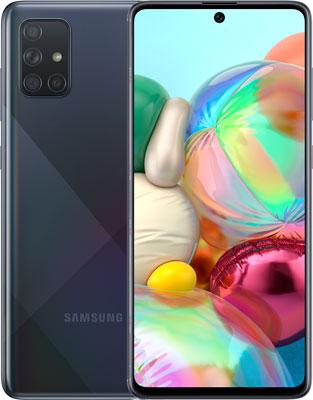 Смартфон Samsung Galaxy A71 SM-A715F черный