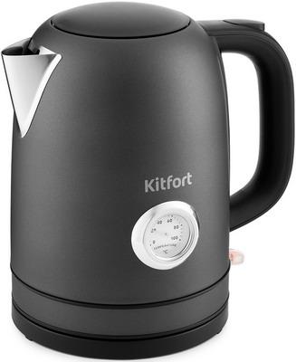 Чайник электрический Kitfort КТ-683-1 графит фото