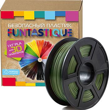 цена на PLA-пластик в катушке Funtastique PLA-1KG-HK 1.75 мм 1 кг (Хаки)