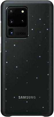 Чехол (клип-кейс) Samsung S20 Ultra (G988) LED-Cover black EF-KG988CBEGRU чехол клип кейс samsung leather cover для samsung galaxy s20 ultra черный [ef vg988lbegru]