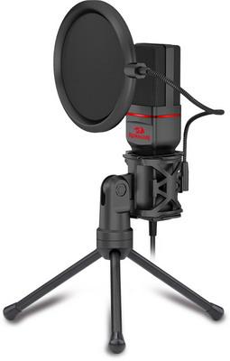 Фото - Игровой стрим микрофон Redragon Seyfert GM100 игровой ноутбук asus rog strix scar gl703gm 90nr00g1 m03440 черный