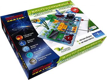 Электронный конструктор Знаток, ''Альтернативные источники энергии'' N70096, Россия  - купить со скидкой