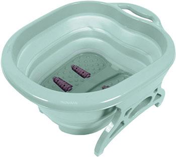Фото - Складная ванночка для ног Bradex «Блаженство» бирюзовая KZ 0642 массажер bradex блаженство kz 0182 red