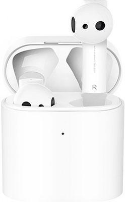 Фото - Вставные наушники Xiaomi Air 2 (Mi True Wireless Earphones 2S) белые TWSEJ07WM (BHR4208GL) наушники xiaomi airdots mi true wireless earbuds белый zbw4409cn zbw4420gl