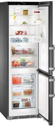 лучшая цена Двухкамерный холодильник Liebherr CBNbs 4815-20