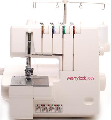 Распошивальная машина Merrylock 009 распошивальная машина minerva cs 1000 pro