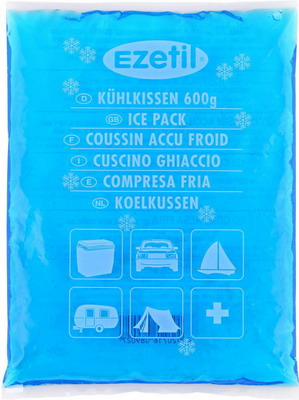 Аккумулятор холода Ezetil SoftIce 600 gr термосумка ezetil keep cool professional 18