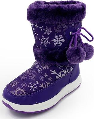 Сапоги Tomax зимние р. 33 фиолетовые 5801-2