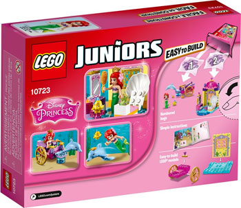 Конструктор Lego Juniors Карета Ариэль 10723 все цены