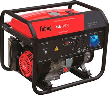 Электрический генератор и электростанция Fubag BS 6600 бензиновая электростанция fubag bs 6600