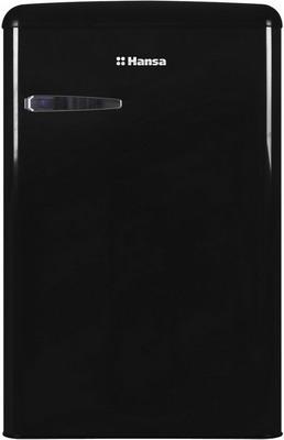 Однокамерный холодильник Hansa FM 1337.3 BAA черный однокамерный холодильник hansa fm 1337 3 jaa бирюзовый