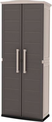 Шкаф Keter Boston Tall Utility Shed серый 17200891 шкаф keter optima outdoor tall серый 17200531