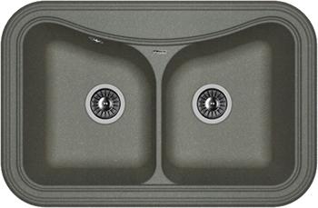 Кухонная мойка Florentina Крит-780 А 780х510 черный FG baile penis sleeve реалистичная насадка на пенис