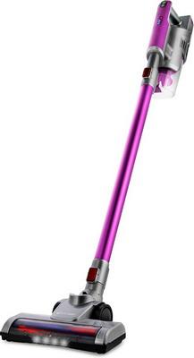 Пылесос беспроводной Kitfort, KT-536-2 фиолетово-серый, Китай  - купить со скидкой