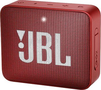лучшая цена Портативная акустическая система JBL GO2 красный JBLGO2RED