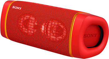 Портативная акустика Sony SRS-XB33R красный