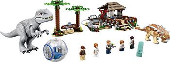Конструктор Lego JURASSIC WORLD Индоминус-рекс против анкилозавра 75941