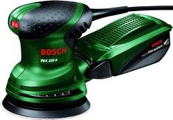 Эксцентриковая шлифовальная машина Bosch PEX 220 A 0603378020 шлифмашина эксцентриковая bosch pex 220 a 0603378020
