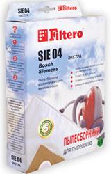 Набор пылесборников Filtero SIE 04 (4) Extra набор пылесборников filtero kar 05 4 pro