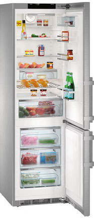 Двухкамерный холодильник Liebherr CNPes 4858-20 цена