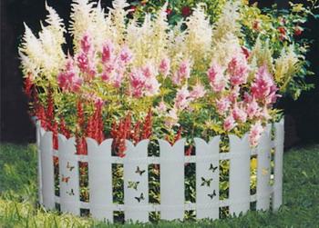 Садовое ограждение МастерСад Бабочка белое цена