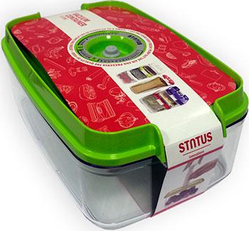 Фото - Контейнер для вакуумного упаковщика Status VAC-REC-30 Green контейнер для вакуумного упаковщика status vac rec 30 red