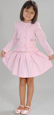 Комплект Fleur de Vie 24-0660 рост 128 розовый цена и фото