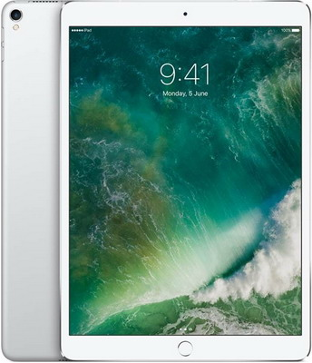 Планшет Apple iPad Pro 10 5 Wi-Fi + Cellular 256 ГБ серебристый (MPHH2RU/A) карта памяти 256 гб
