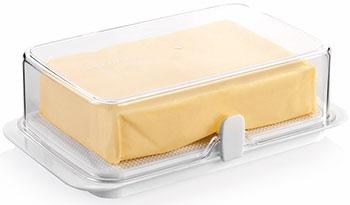 Kонтейнер для холодильника Tescoma PURITY масленка большая 891832 цена