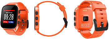 Умный фитнес-браслет SMA SMA Q2 Lite оранжевый фитнес браслет sma b2 черный