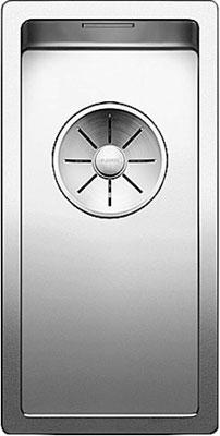 Кухонная мойка Blanco CLARON 180-IF нерж. сталь зеркальная полировка 521564 кухонная мойка blanco claron 8s if а чаша справа нерж сталь зеркальная полировка 521651