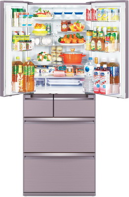 лучшая цена Многокамерный холодильник Mitsubishi Electric MR-WXR 627 Z-P-R1
