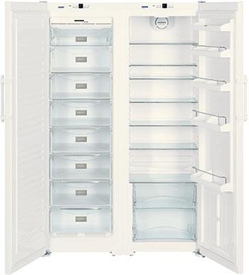 Холодильник Side by Side Liebherr SBS 7212-24 (SGN 3063-23+ SK 4240-24) холодильник liebherr sbs 7212 sgn 3063 sk 4240 белый