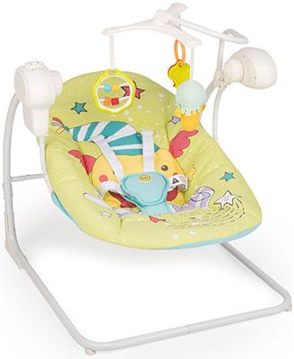 цены на Электрокачели Happy Baby ''JOLLY V2'' GREEN  в интернет-магазинах