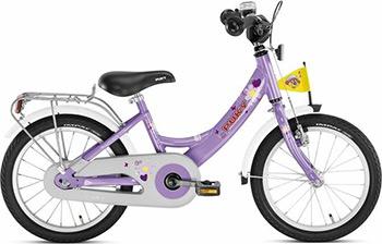 Велосипед Puky ZL 16-1 Alu 4224 lilac лиловый no name для tower 3 диаметр 8 5 alu 2шт 9 5 alu 1шт 9535 0311