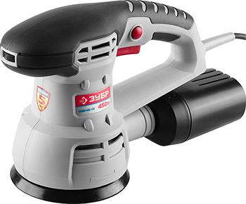 Эксцентриковая шлифовальная машина Зубр ЗОШМ-450-125 шлифовальная машина bosch gws 17 125 cie 06017960r2