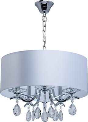 Люстра подвесная MW-light Нора 454010805 5*40 W Е14 220 V