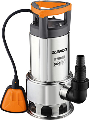 Насос Daewoo Power Products DDP 20000 Inox манометр цифровой daewoo power products dwm 7