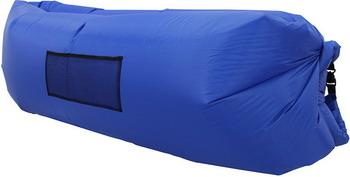 лучшая цена Лежак надувной Ламзак синий во3504