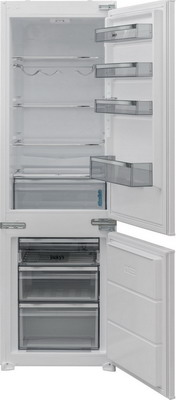 Фото - Встраиваемый двухкамерный холодильник Jacky`s JR BW 1770 MS двухкамерный холодильник hitachi r vg 472 pu3 gbw