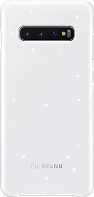 Чехол (клип-кейс) Samsung S 10+ (G 975) LED-Cover white EF-KG 975 CWEGRU mooncase view window leather side flip pouch stand shell back чехолдля samsung galaxy s duos s7562 white