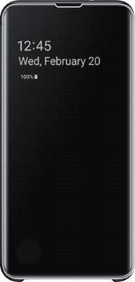 Чехол (флип-кейс) Samsung S 10 e (G 970) ClearView black EF-ZG 970 CBEGRU цена
