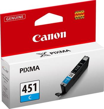 Картридж Canon CLI-451 C 6524 B 001 Голубой