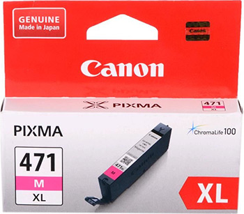 Картридж Canon CLI-471 XL M 0348 C 001 Пурпурный