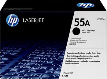Картридж HP CE 255 A Черный