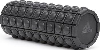 Валик массажный Adidas ADAC-11505BK (33 см) (черный) мединжиниринг валик массажный в мс 21 цвет белый 646 1198 skai германия
