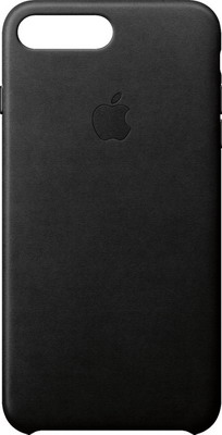 Чехол (клип-кейс) Apple Leather Case для iPhone 8 Plus/7 Plus цвет (Black) черный MQHM2ZM/A цена 2017